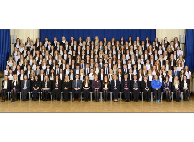 Senior School Large Group Photography
