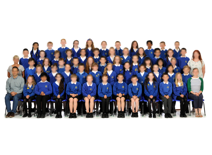 Large Primary School Group Photos 1