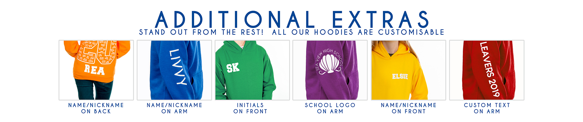 Additional Extras Hoodies