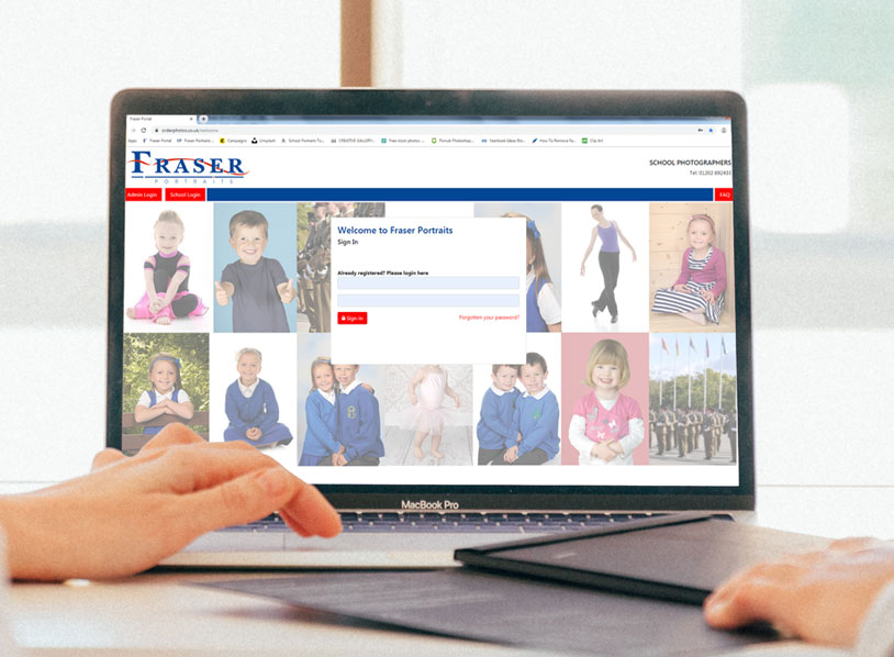 Fraser Portraits School Portal